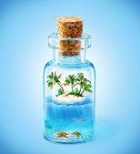 Tropický ostrov — Stock fotografie