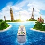 Постер, плакат: Sea cruise