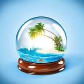 Glass globe — Stockfoto