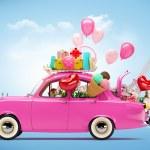 Car of love — Stock Photo #30949803
