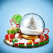 Christmas background — Stock Photo #31467003