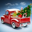 Christmas background — Stock Photo #35909569