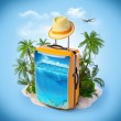 Tropical background — Stock Photo #40344997
