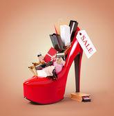 Cosmetics set — Stock Photo
