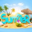 Summer background — Stock Photo