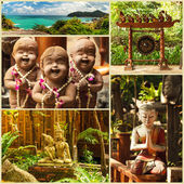 Thai sculptures — Stock Photo