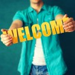 Welcome — Stock Photo #46520099