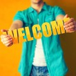 Welcome — Stock Photo #46520109