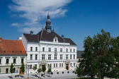 Town hall in Valtice — Stock Photo