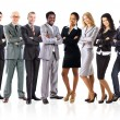 Group of business — Stock Photo #20334291