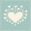 Background with hearts — Stock Vector #18120311