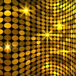 Wavy golden mosaic background — Stock Vector #30604501