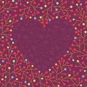 背景与心的形状 — 图库矢量图片