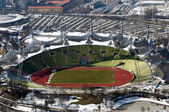 Olympic stadium in Munich — Stock Photo