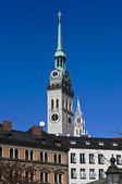 St. Peter's church in Munich — Stock Photo