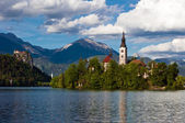 Church of Bled — Stock Photo