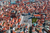 Aerial view of Staromestska square — Stock Photo