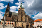 St.Vitus Cathedral in Prague — Stock Photo