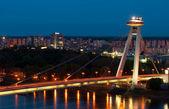 New Bridge, Bratislava, Slovakia — Stock Photo