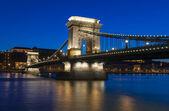 цепной мост — Стоковое фото