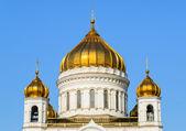 Altın kubbe ortodoks kilisesi — Stok fotoğraf
