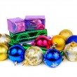 Balls for the Christmas tree — Stock Photo