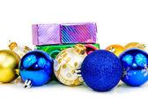 Balls for the Christmas tree — Stock Photo