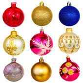Ball for the Christmas tree — Stock Photo