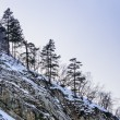 Snow-covered mountains — 图库照片