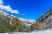 Snow-covered mountains — Stock Photo