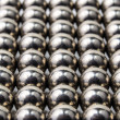 Texture of metal balls — Stock Photo