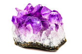 Natural amethyst — Stock Photo