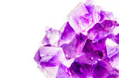 Natural amethyst — Stockfoto