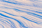 Patterns of snow — Stock Photo