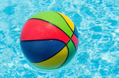 Ball in the pool — Stock Photo
