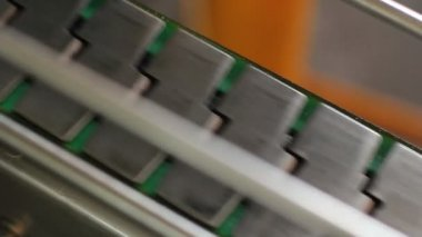 Engine oil production line — Stock Video