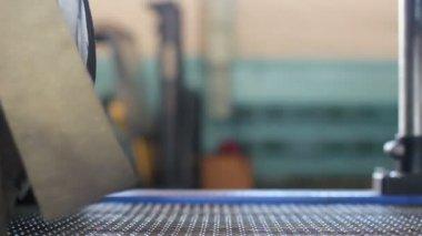 Motor yağı üretim hattı — Stok video