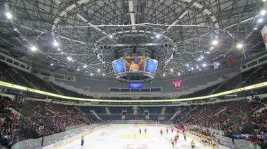 Mecz hokeja na lodzie — Wideo stockowe