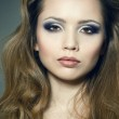 Closeup portrait of a sexy young woman — Stock Photo #5430426