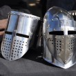 Stock Photo: Medieval Helmets