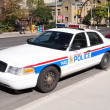 Police cruiser — Stock Photo
