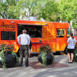 Cheezy Bizness food truck - Stock Photo