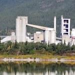 Cement Plant — Stock Photo