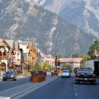 Banff Avenue — Stock Photo