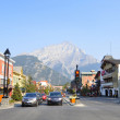 Banff Avenue - Stock Photo
