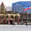 Stock Photo: Olympic Plaza, Calgary