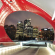 Calgary pedestrian bridge — Stock Photo #21164561
