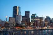 Calgary skyline — Stock Photo