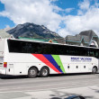 Stock Photo: Tourist bus, Banff
