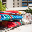 Waikiki water sport rentals — Stock Photo